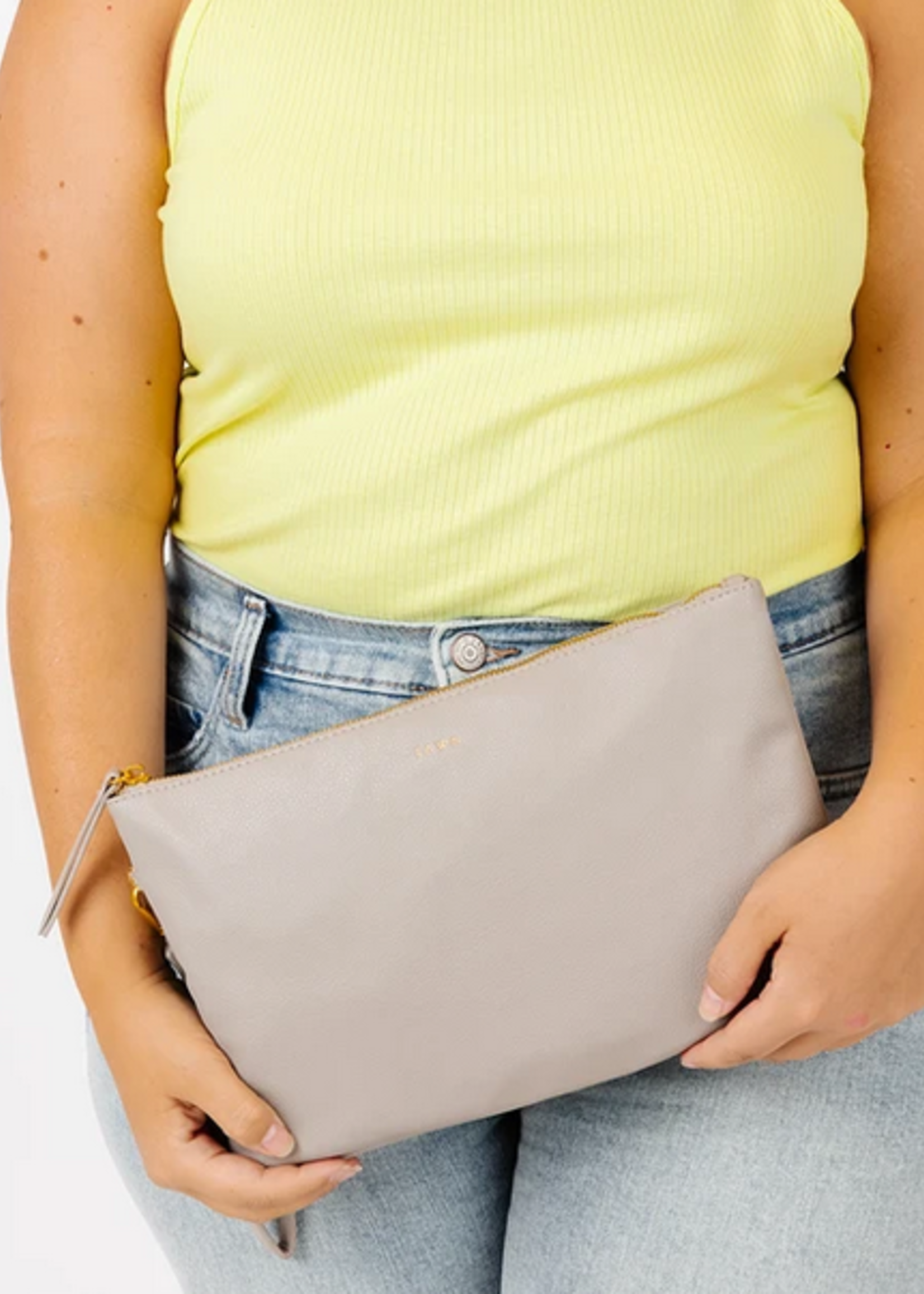 Elitaire Petite The Changing Clutch - Grey