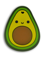 Elitaire Petite Avocado Silicone Teether