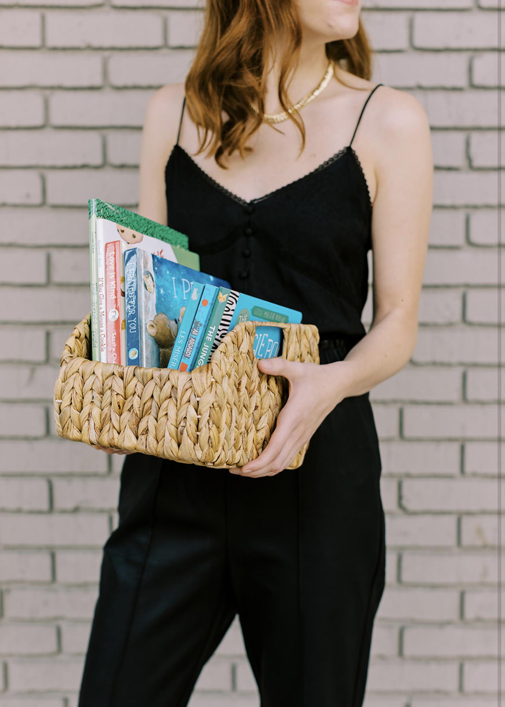 Elitaire Petite Small Woven Storage Basket