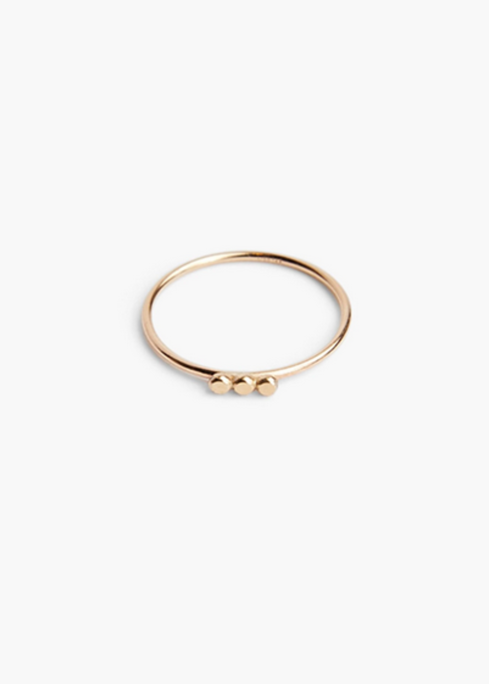 Elitaire Boutique Caesar Three Dot Stacking Ring