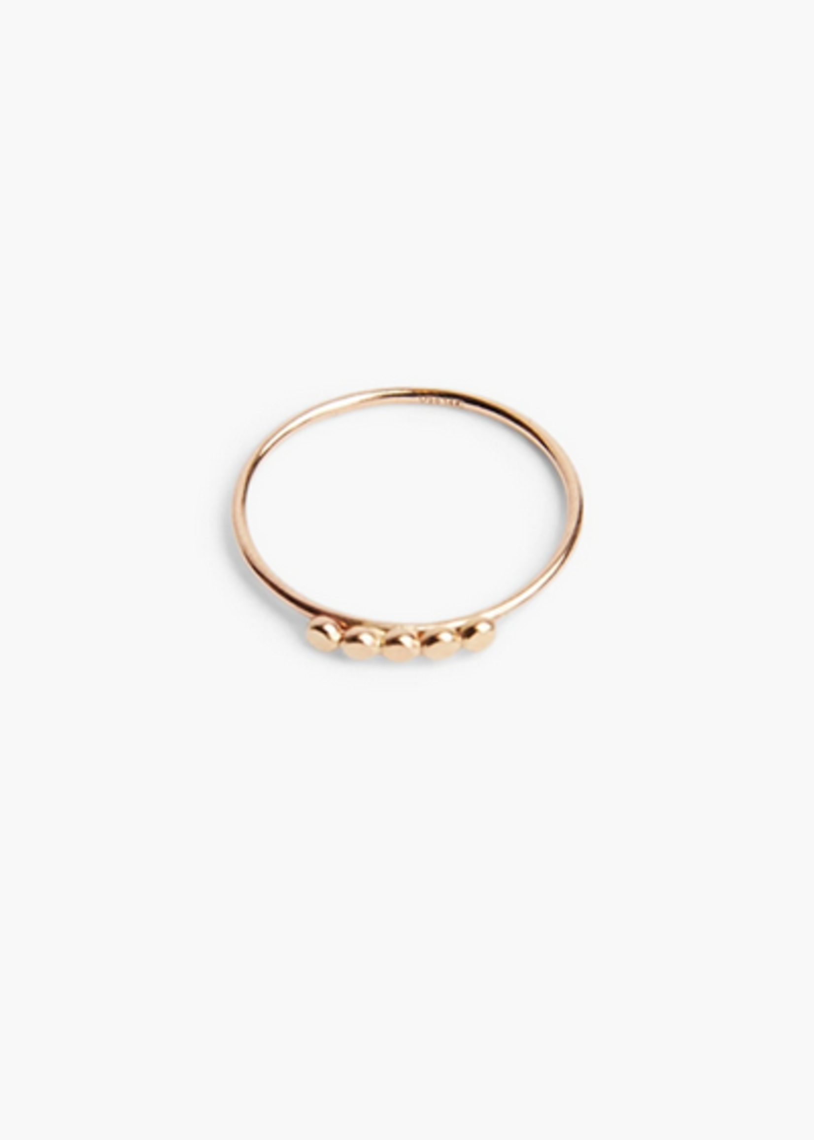 Elitaire Boutique Caesar Five Dot Stacking Ring