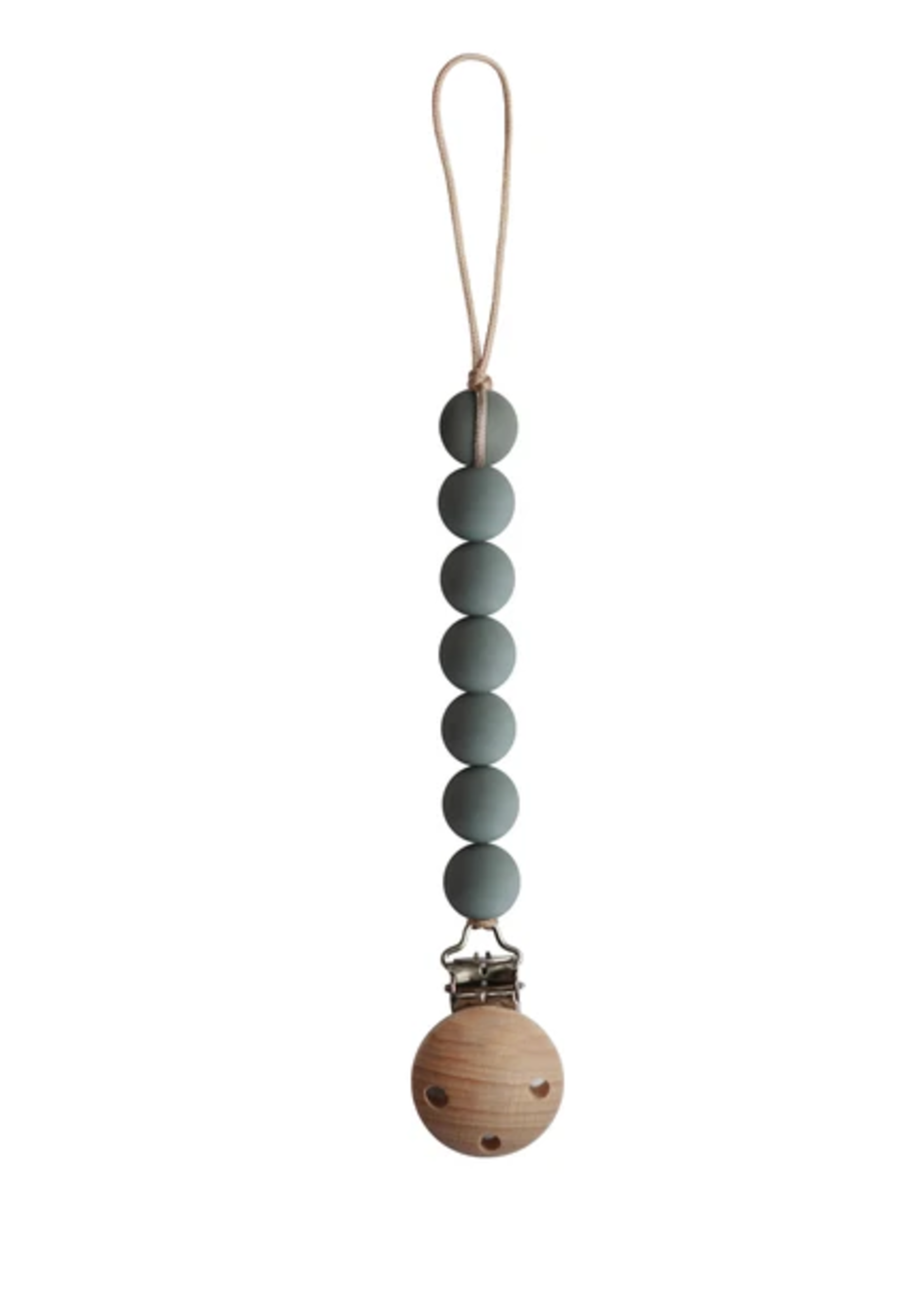 Elitaire Petite Halo Dried Thyme Pacifier Clip