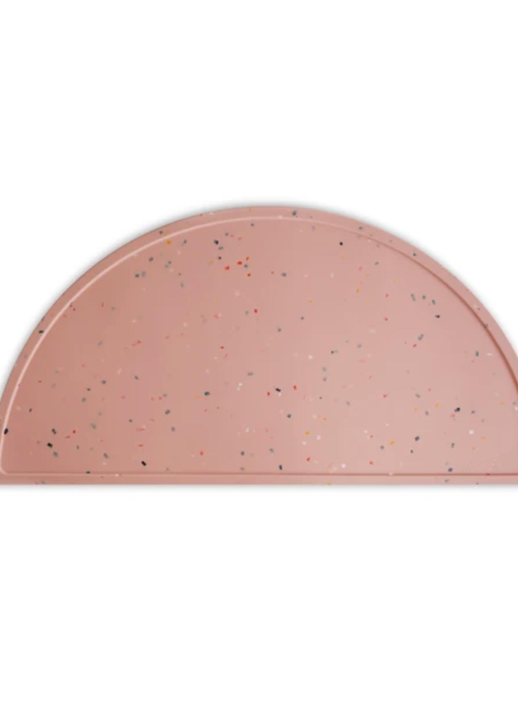 Elitaire Petite Pink Confetti Silicone Place Mat