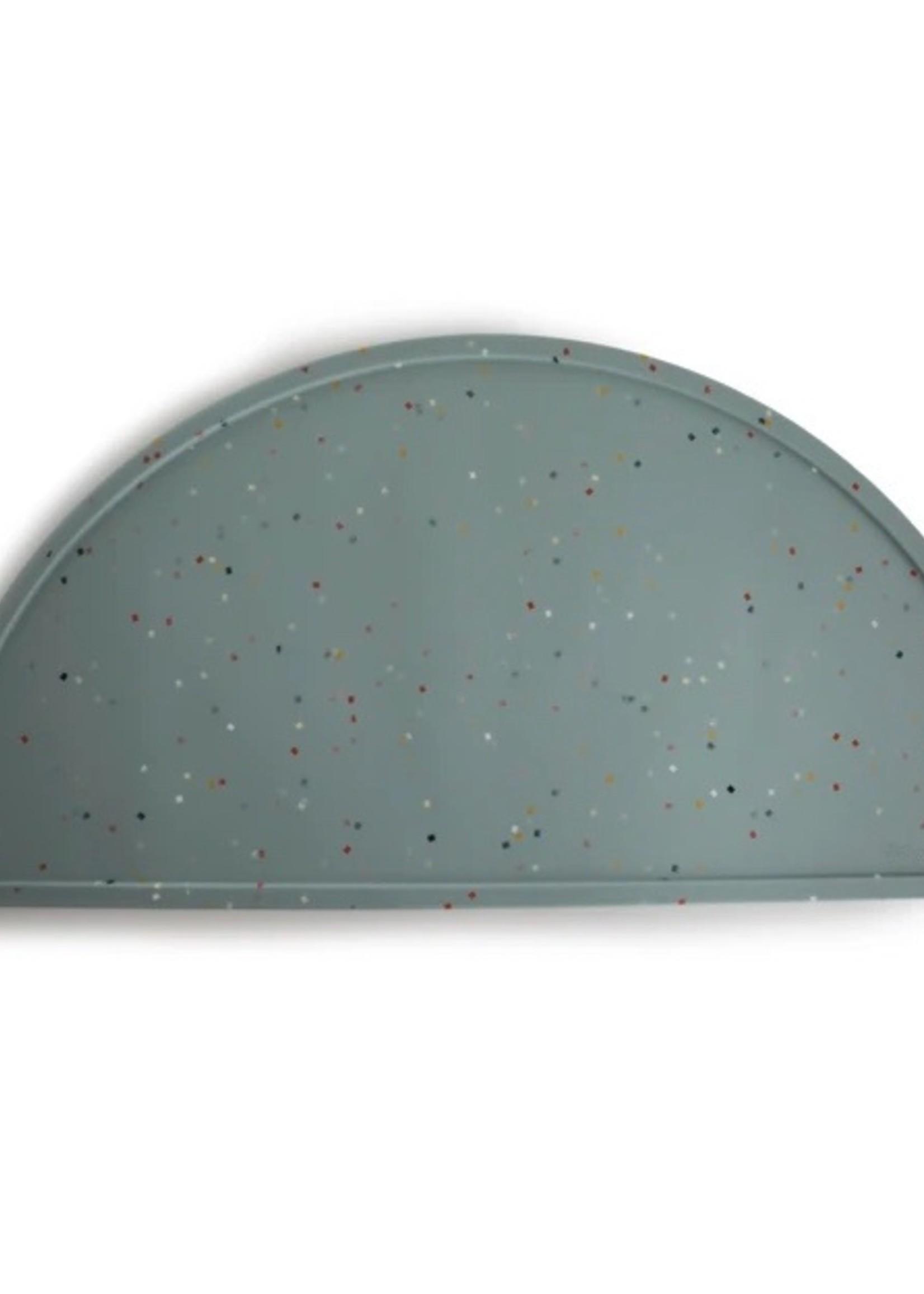 Elitaire Petite Cambridge Blue Confetti Silicone Place Mat