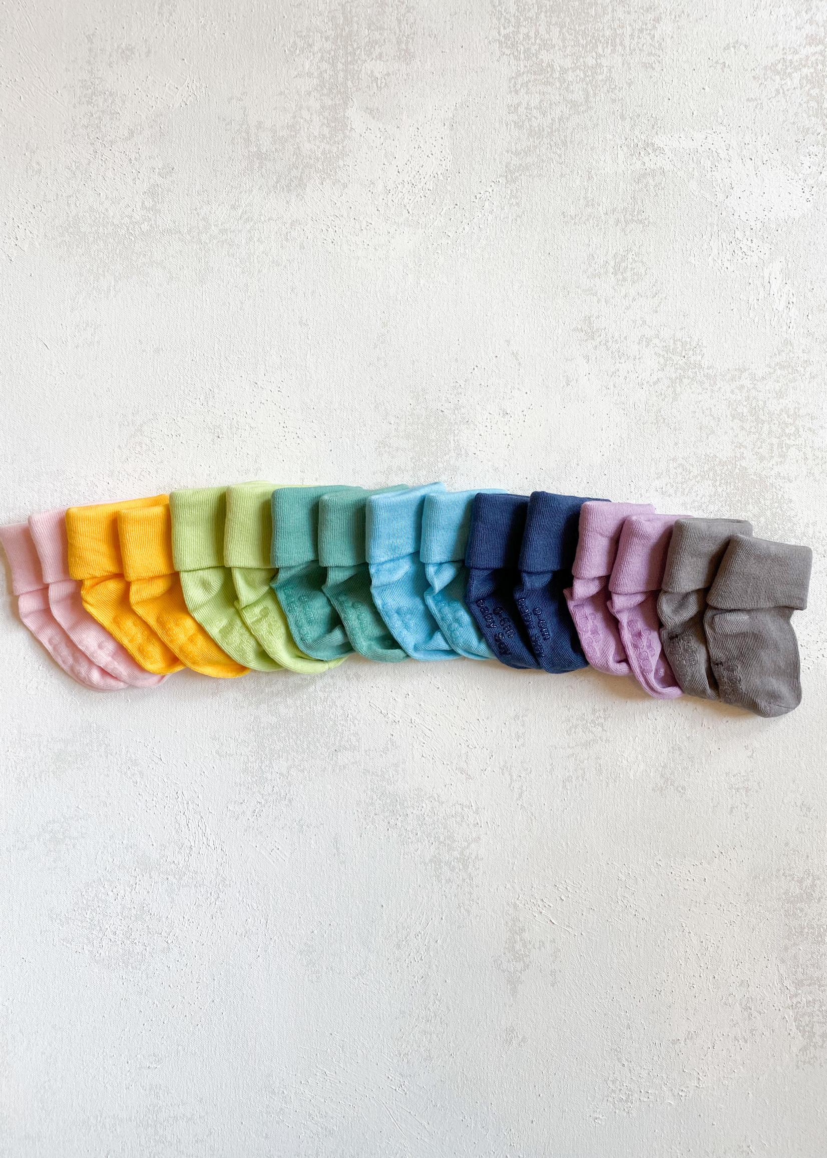 Elitaire Petite Modern Socks in Indigo