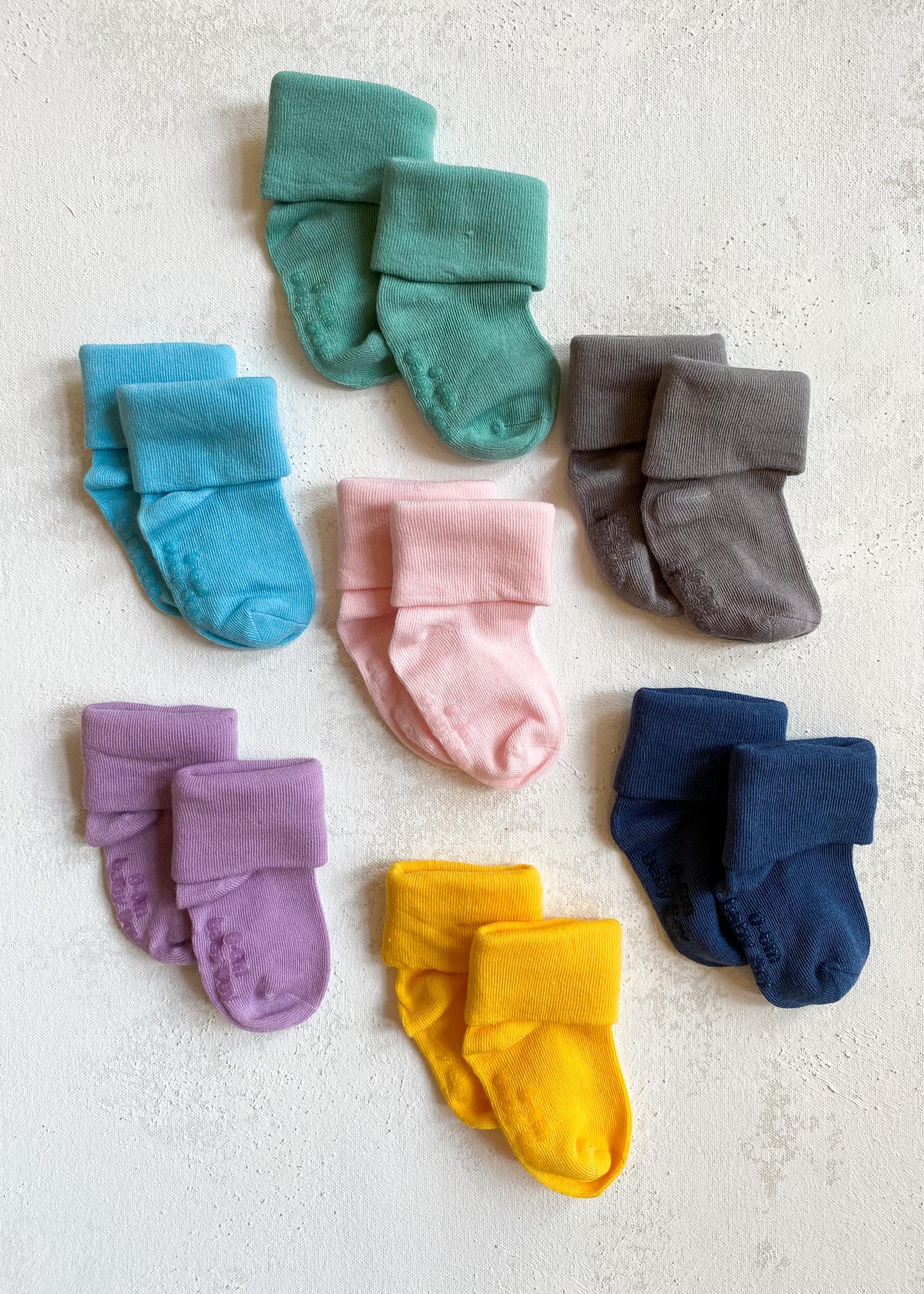 Elitaire Petite Modern Socks in Sunshine