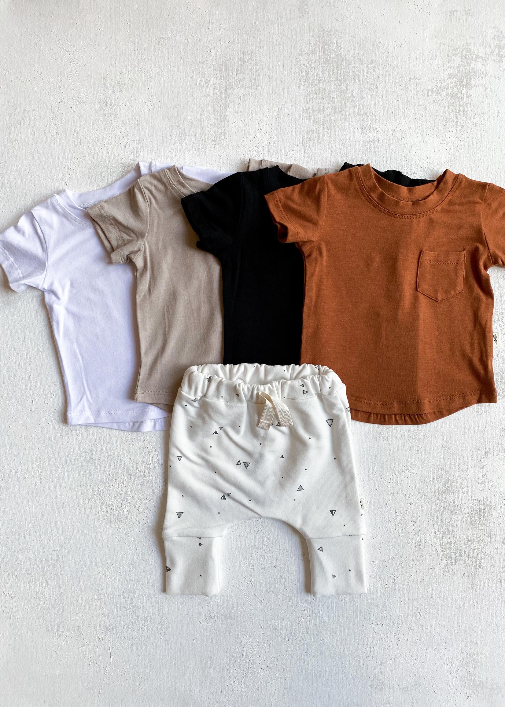 Elitaire Petite Triangle Printed Slim Harem Pants