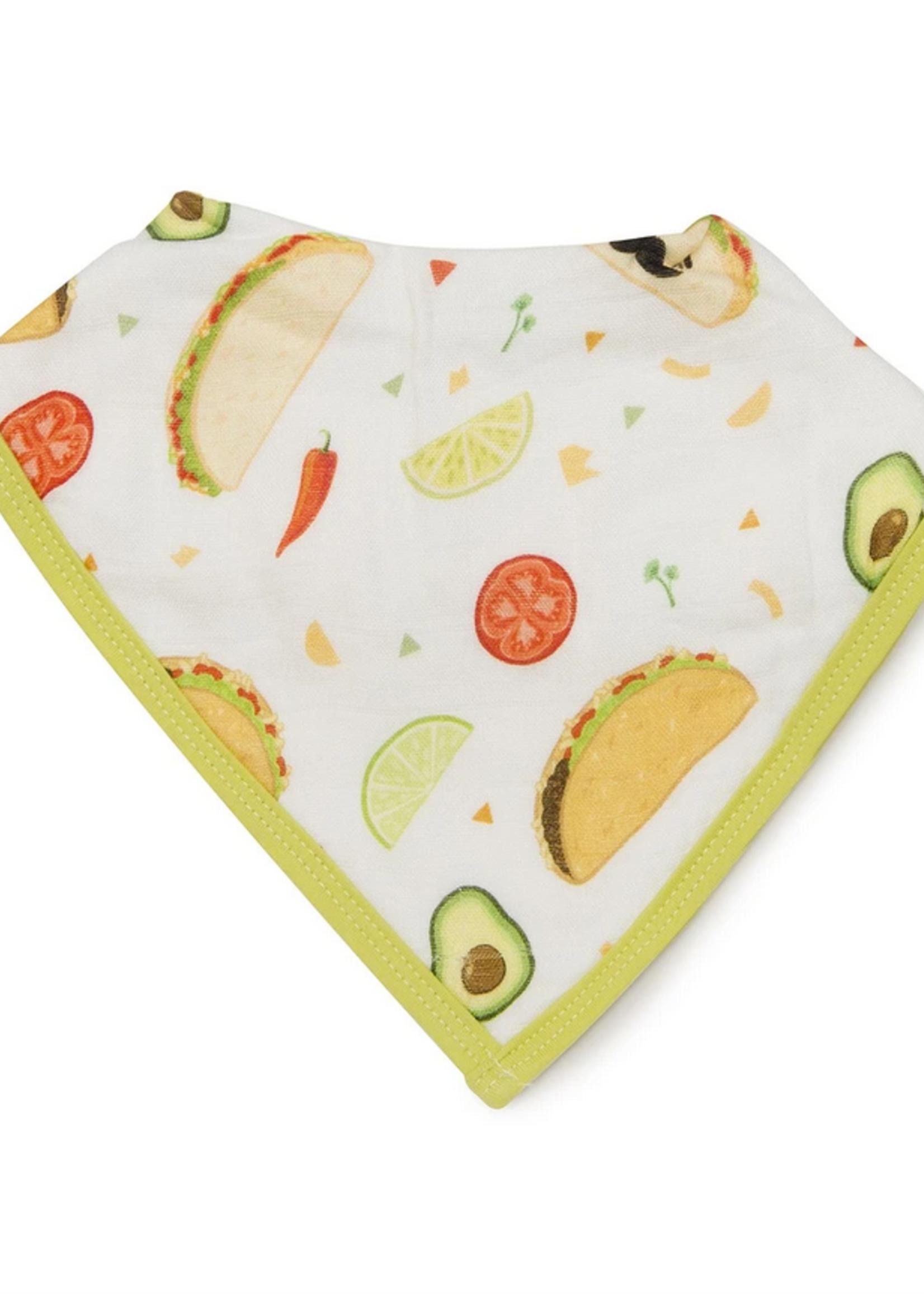 Elitaire Petite Bandana Bib Set - Sushi/Taco