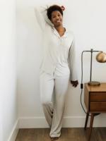 Elitaire Petite Long Sleeve Dream Set in Grey