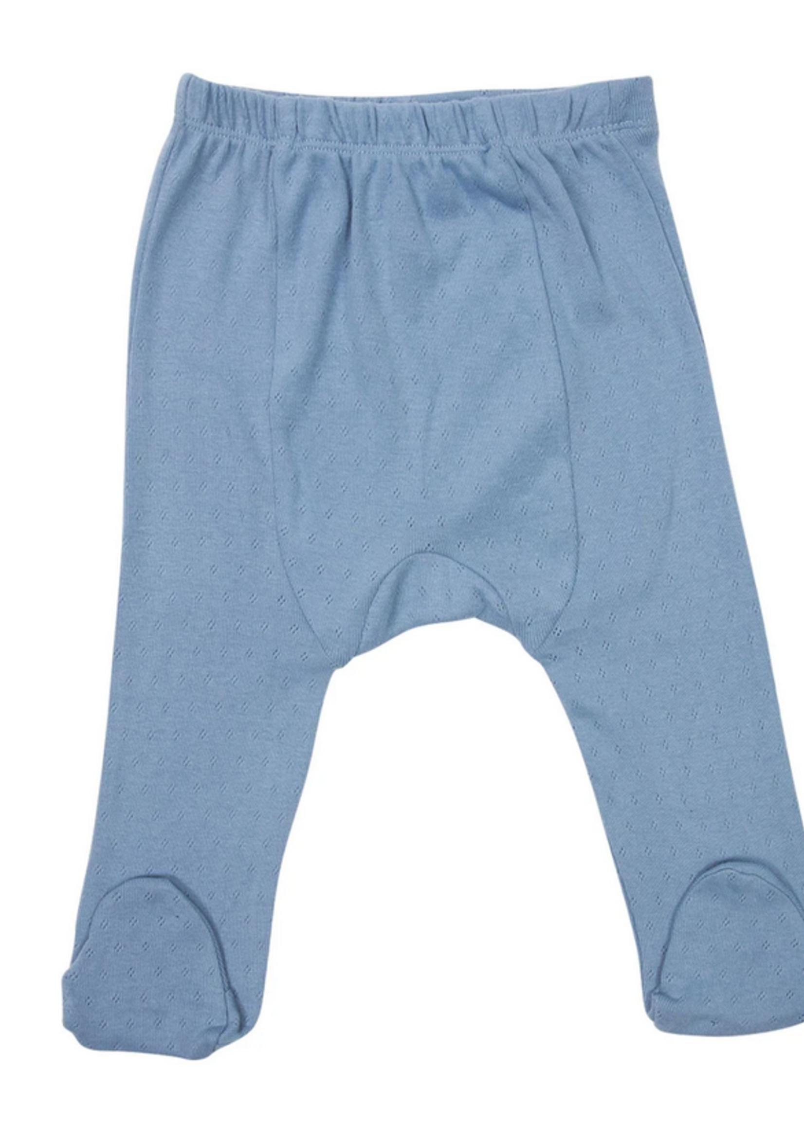 Elitaire Petite Organic Baby Legging in Blue