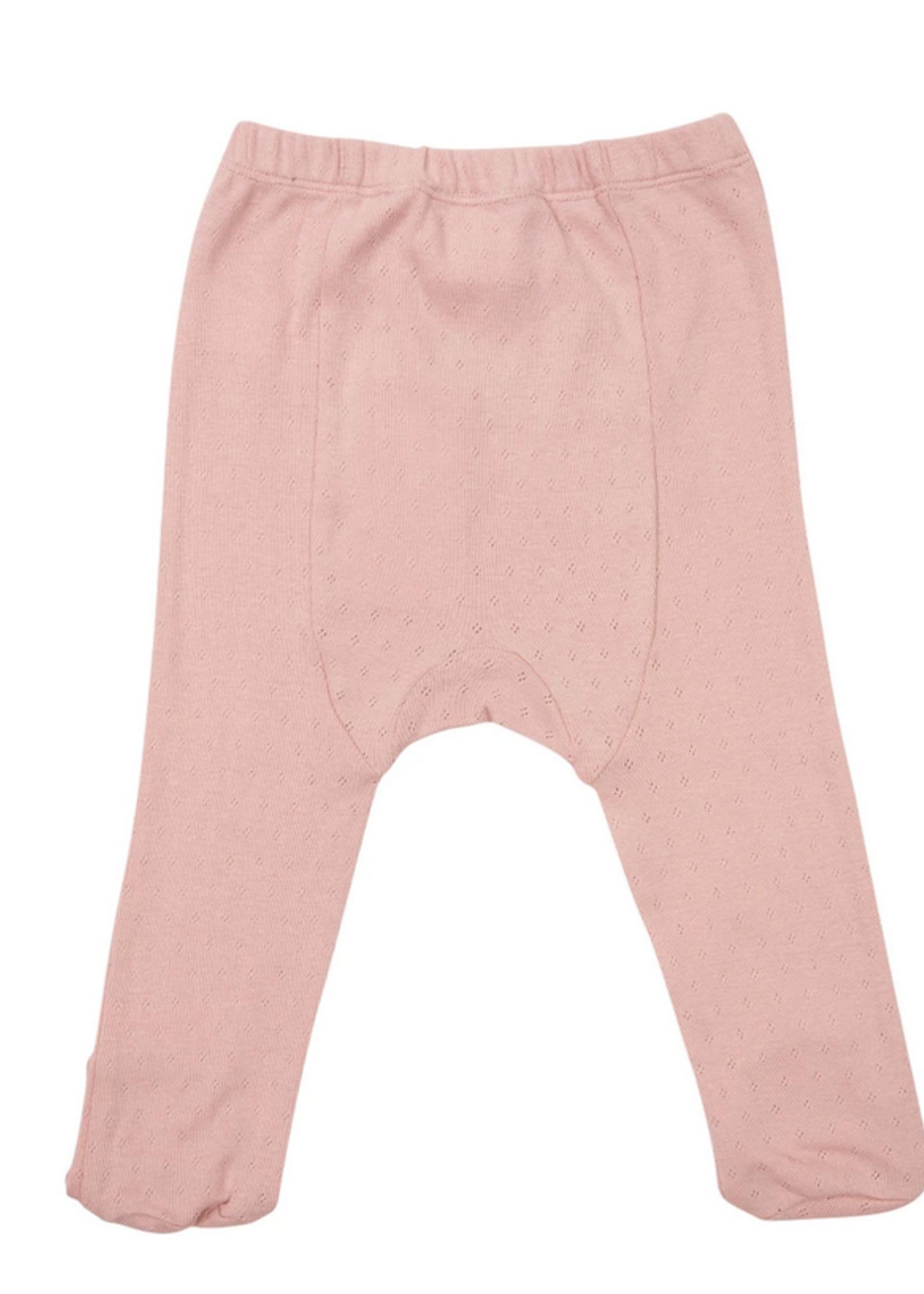Elitaire Petite Organic Baby Legging in Pink