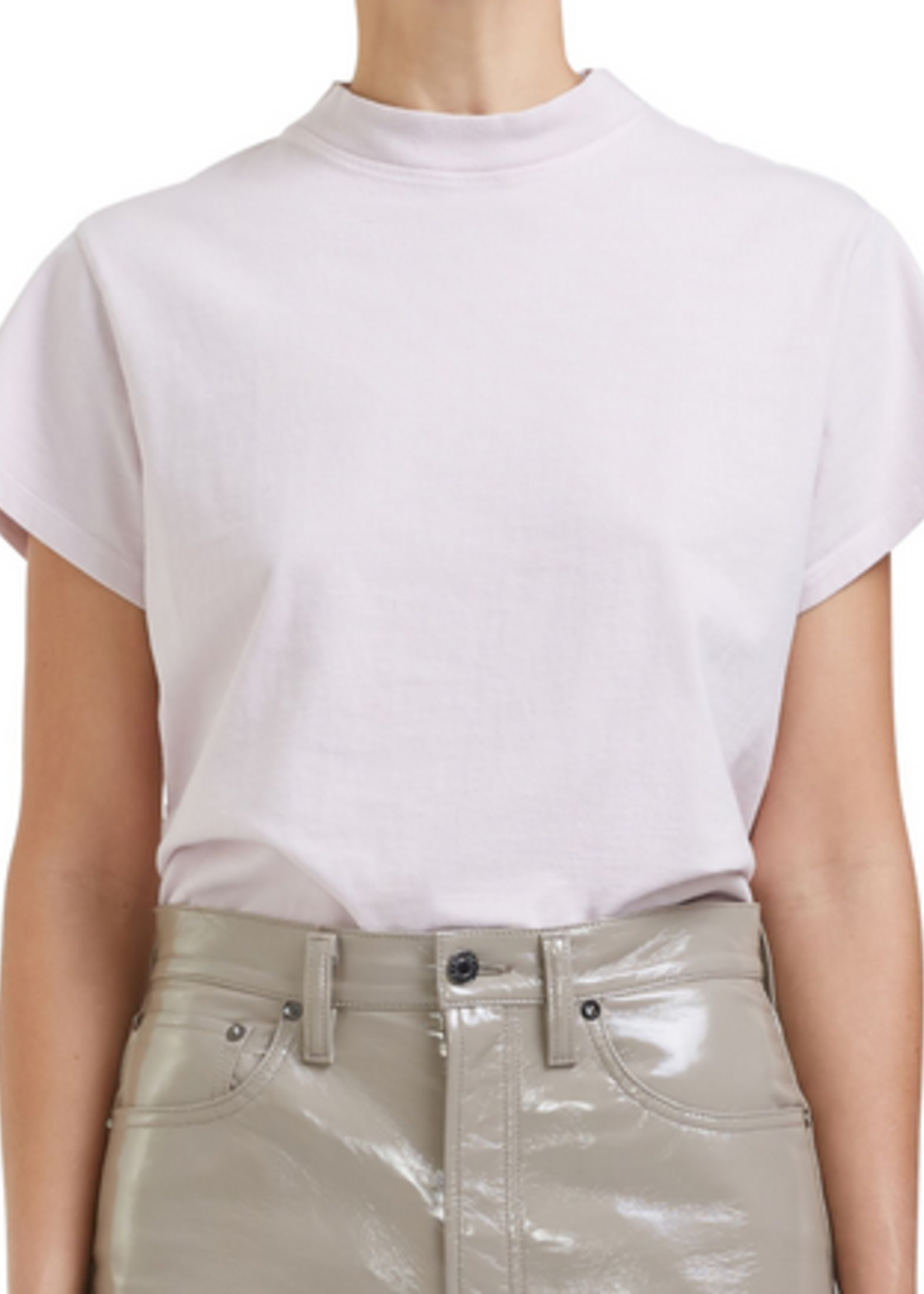 Elitaire Boutique Anika Cap Sleeve Tee in Lilac