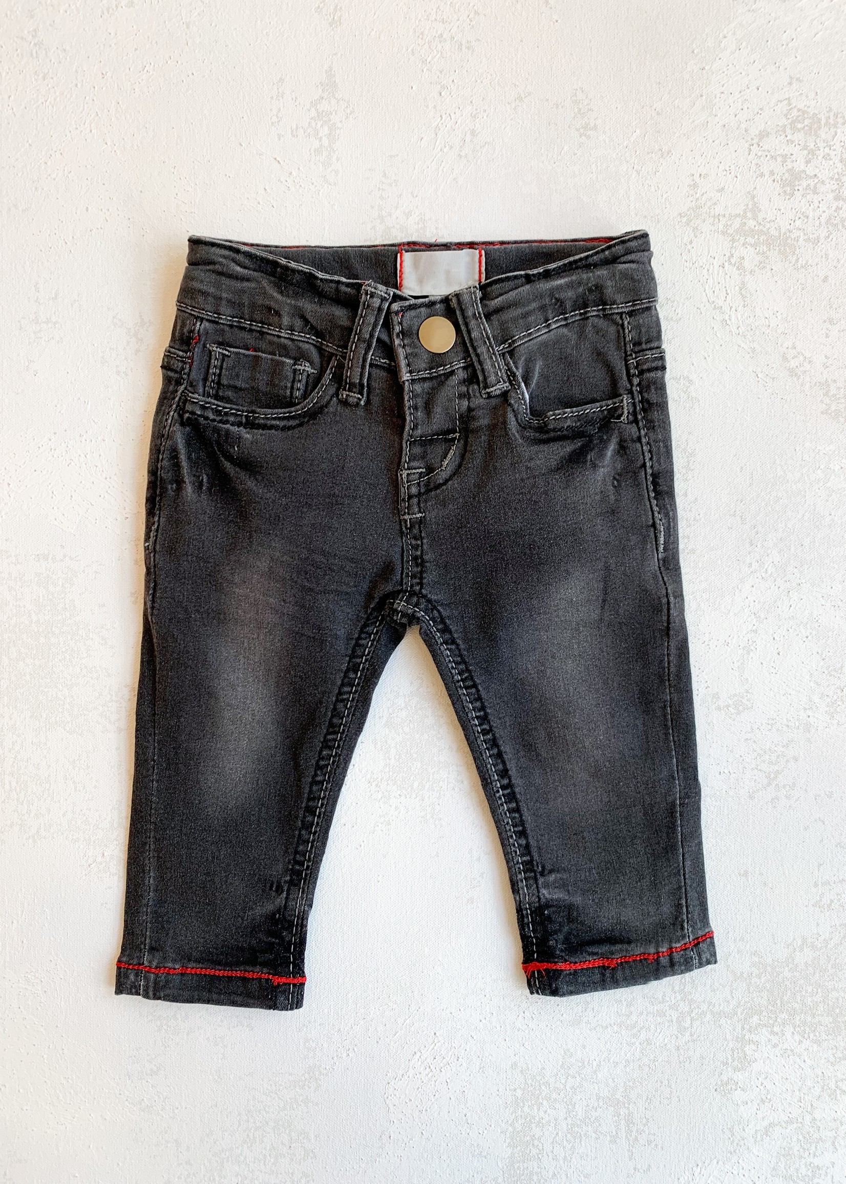 Elitaire Petite Price Jean in Charcoal