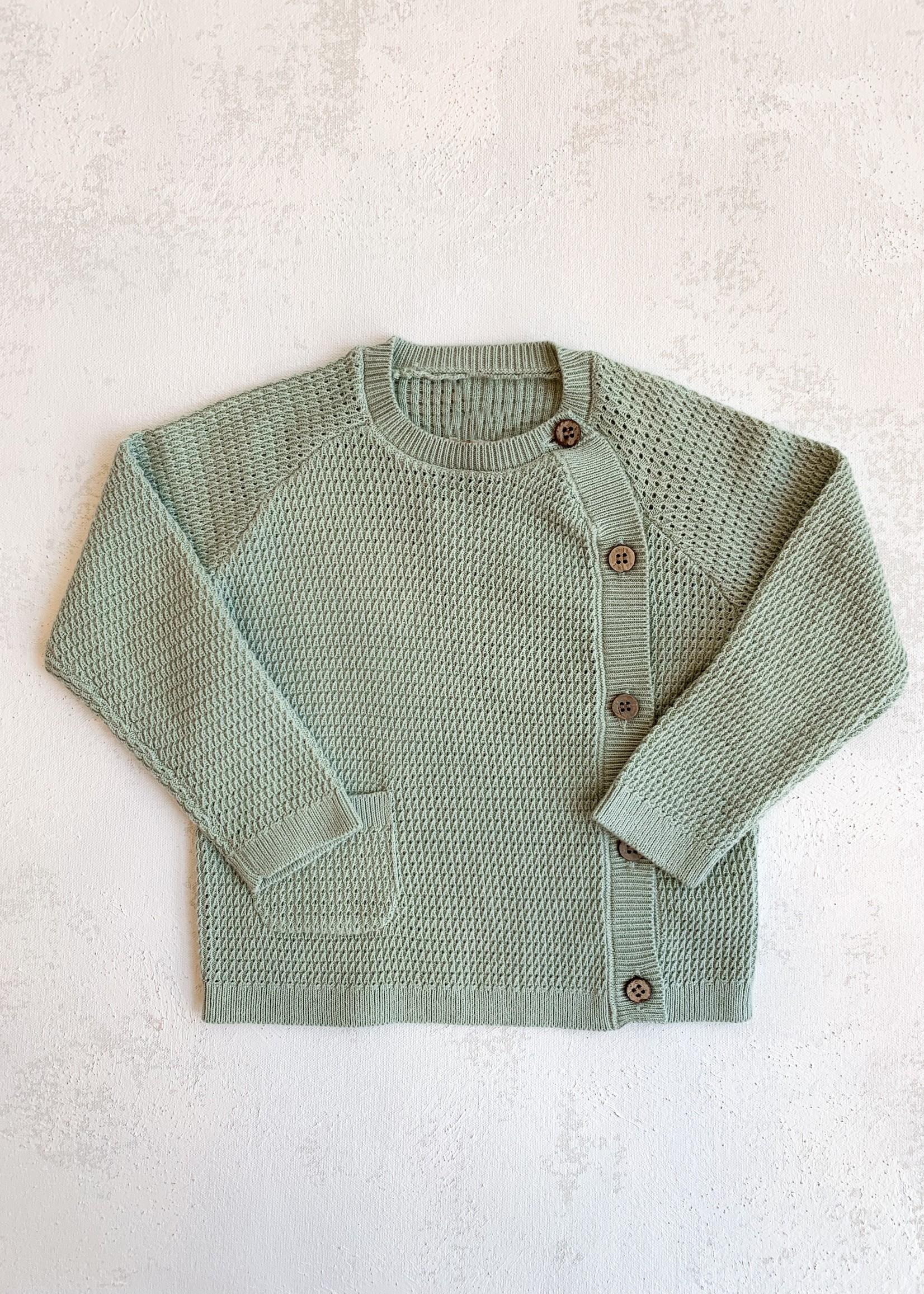Elitaire Petite Kris Sweater in Sage