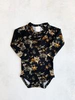 Elitaire Petite Poetry Bodysuit in Antique Floral