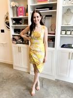 Elitaire Boutique Abundance Dress in Marigold
