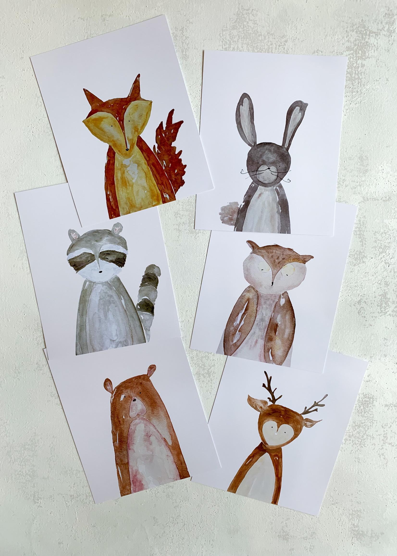 Elitaire Petite Deer Watercolor
