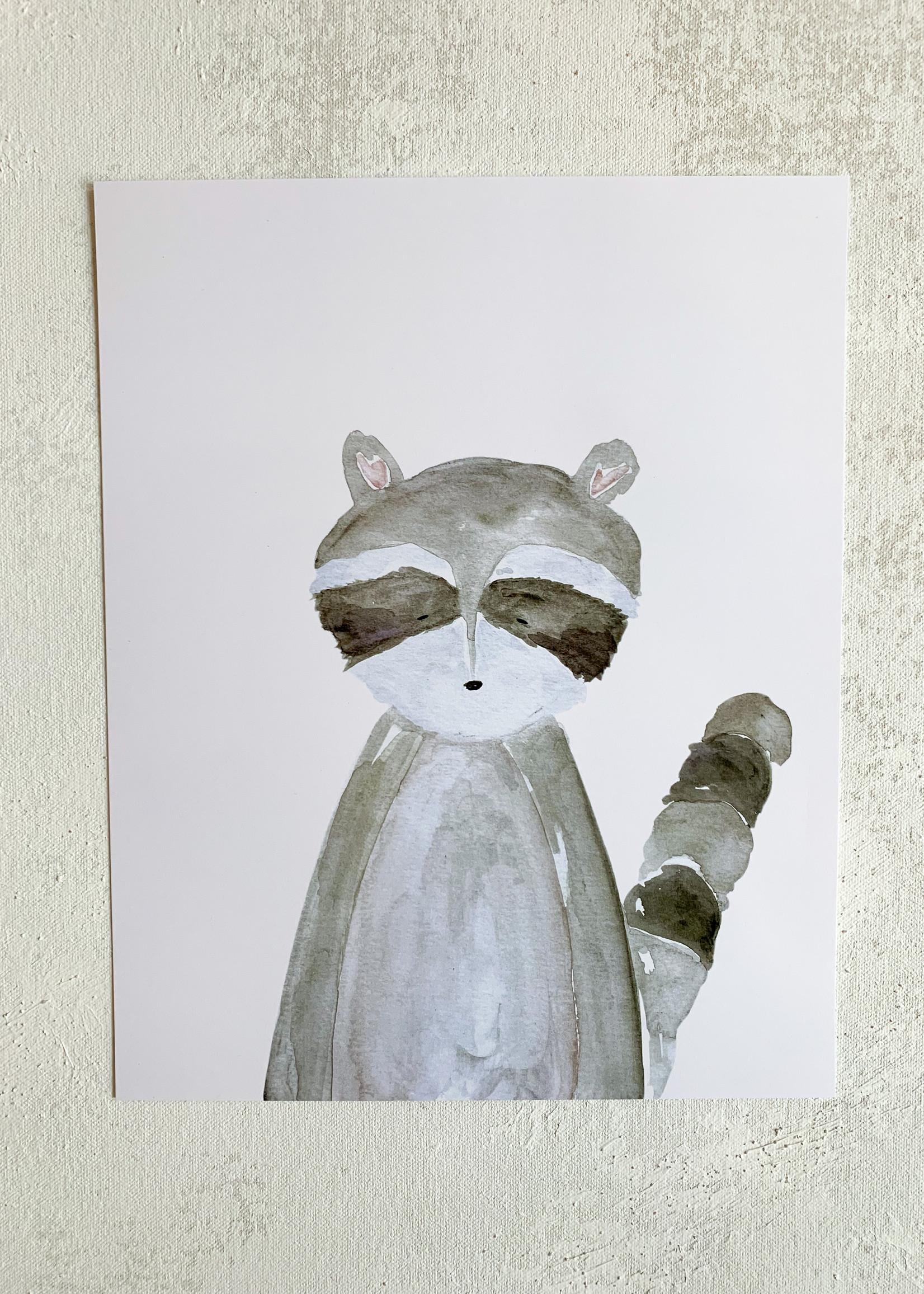 Elitaire Boutique Raccoon Watercolor