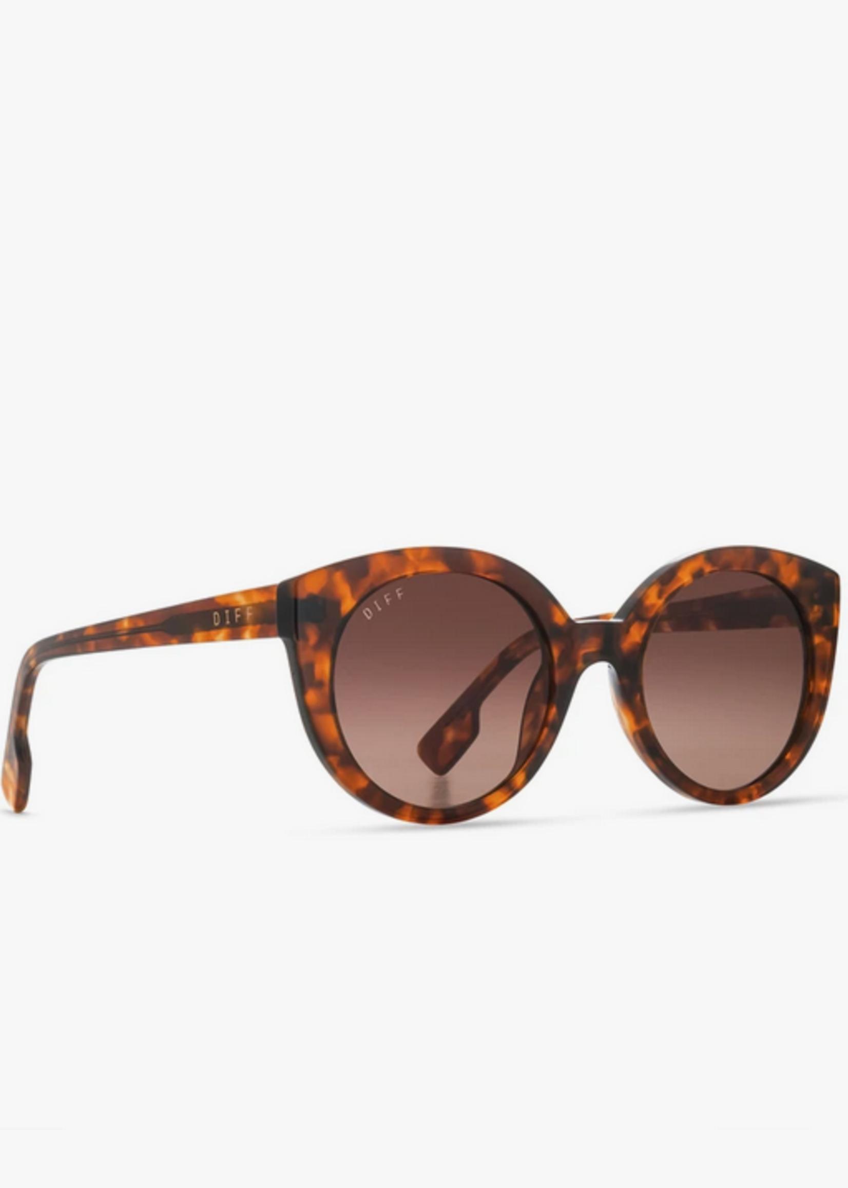 Elitaire Boutique The Emmy Amber Tortoise Polarized Sunglasses