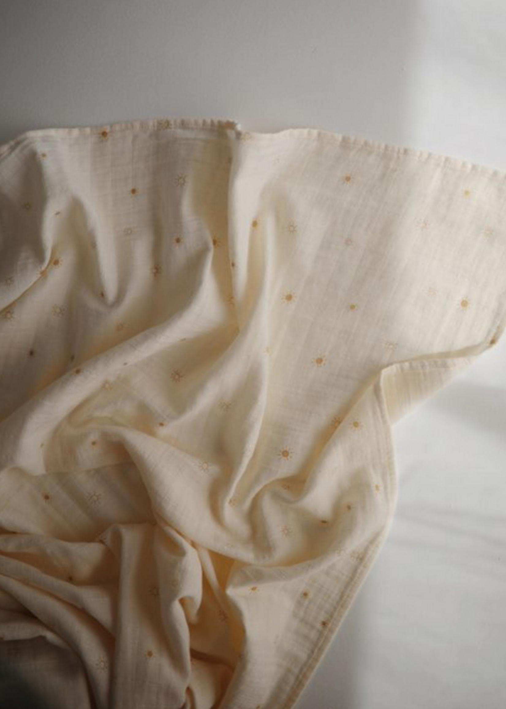 Elitaire Petite Muslin Organic Cotton Swaddle Sun