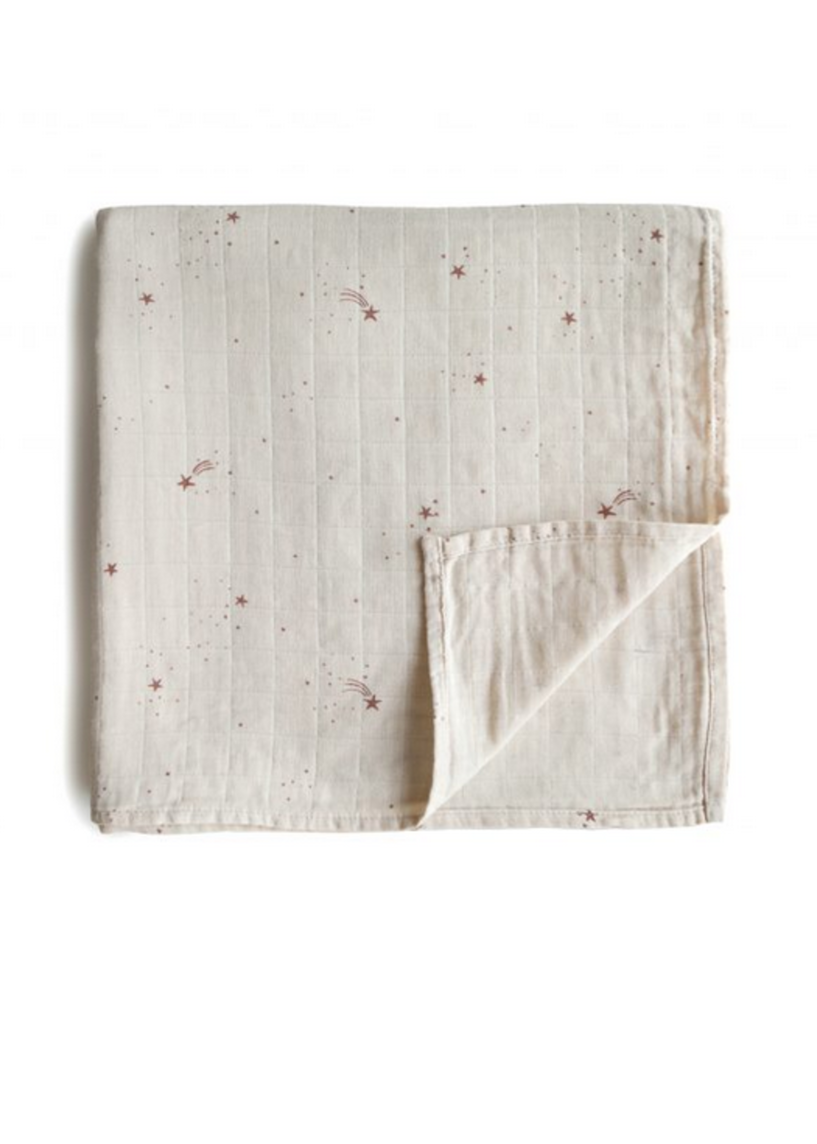 Elitaire Petite Muslin Organic Cotton Swaddle Falling Stars