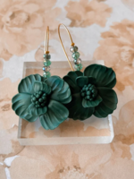 Elitaire Boutique Emerald Beaded Pincushions