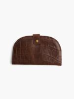 Elitaire Boutique Marisol Wallet Choco Croco
