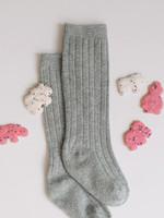 Elitaire Petite Grey Knee High Socks