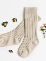 Elitaire Petite Oatmeal Knee High Socks