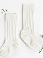 Elitaire Boutique White Knee High Socks