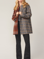 Elitaire Boutique Two-Tone Check Jacket