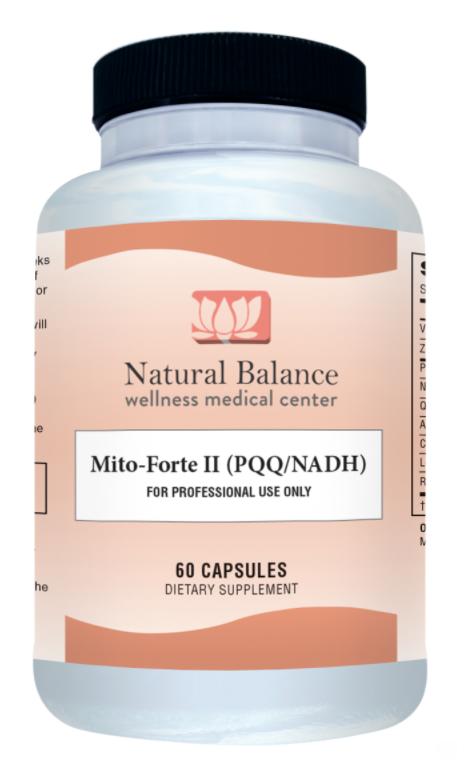 Biomed---------- MITO FORTE II (PQQ/NADH) (GF, DF, SF)(NEUROBIOLOGIX)