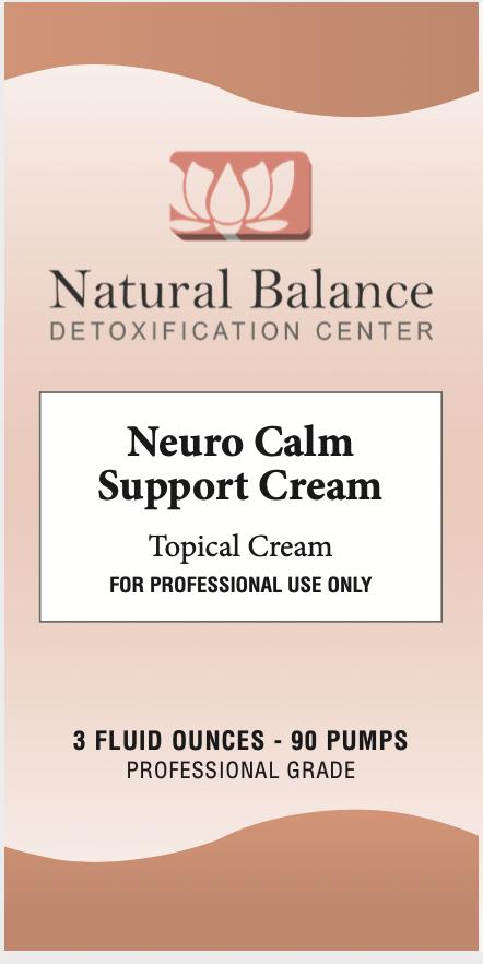 Basic------------- NEURO CALM SUPPORT CREAM  (AKA CALMING CREAM) 3OZ (NEUROBIOLOGIX)
