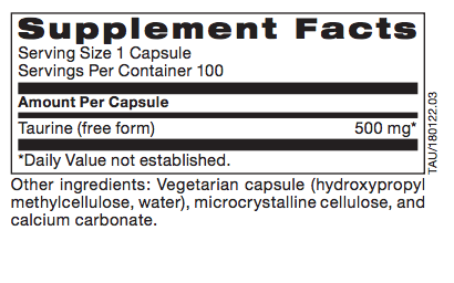Biomed---------- *TAURINE, 100 CT (PROTHERA/KLAIRE)