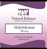 Biomed---------- MOLYBDENUM 500 mcg (Pure/Douglas) (60 caps) (Replacement for Kirkman Molybdenum: New Instructions)