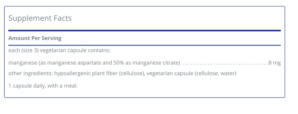 Basic------------- Manganese 60ct (Pure/Douglas)