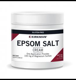 Biomed---------- MAGNESIUM SULFATE CREAM (NEW NAME: EPSOM SALT CREAM) 4oz (KIRKMAN) dosis: 1 gm = 1/4 tsp