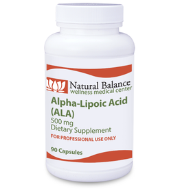 Basic ALPHA LIPOIC ACID 500 mg 90CT  (PROTHERA/KLAIRE)  (Previuosly SLOW RELEASE ALA from Numedica: Same Instructions)