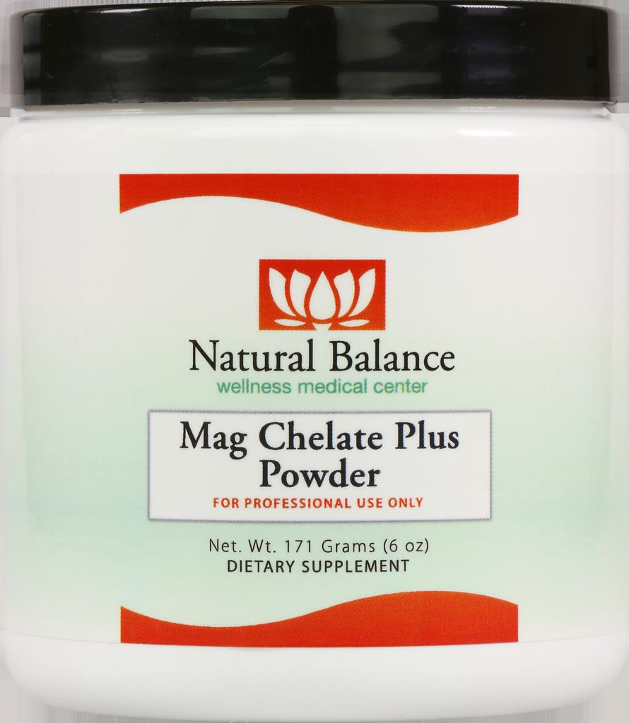 Basic------------- MAG CHELATE PLUS POWDER (GF, DF, SF) (ORTHO MOLECULAR)