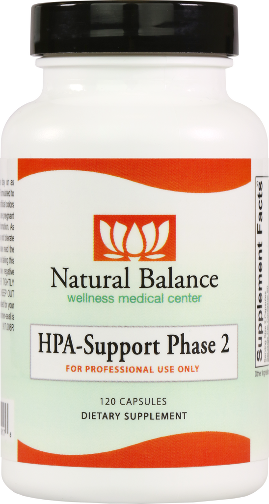 HPA-------------- HPA SUPPORT PHASE 2 120 CT  (ADRENE-ALL) (ORTHO MOLECULAR) (5oz)