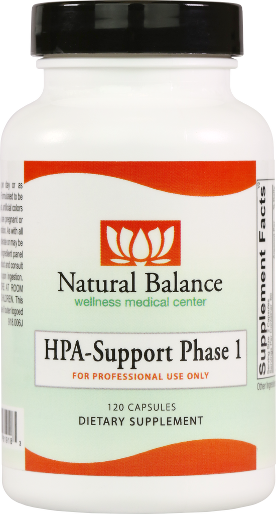 HPA-------------- HPA SUPPORT PHASE 1 120 CT  (ADAPTEN-ALL) (ORTHO MOLECULAR) (5oz)