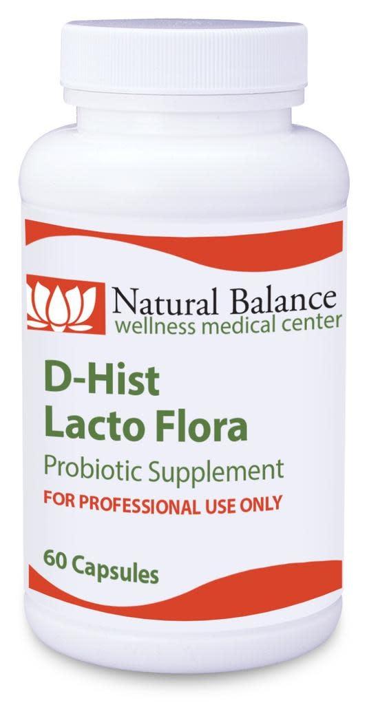 GI Support------ D-HIST LACTO FLORA 60 CT (PROTHERA/KLAIRE) (2oz) (LACTOPRIME PLUS)