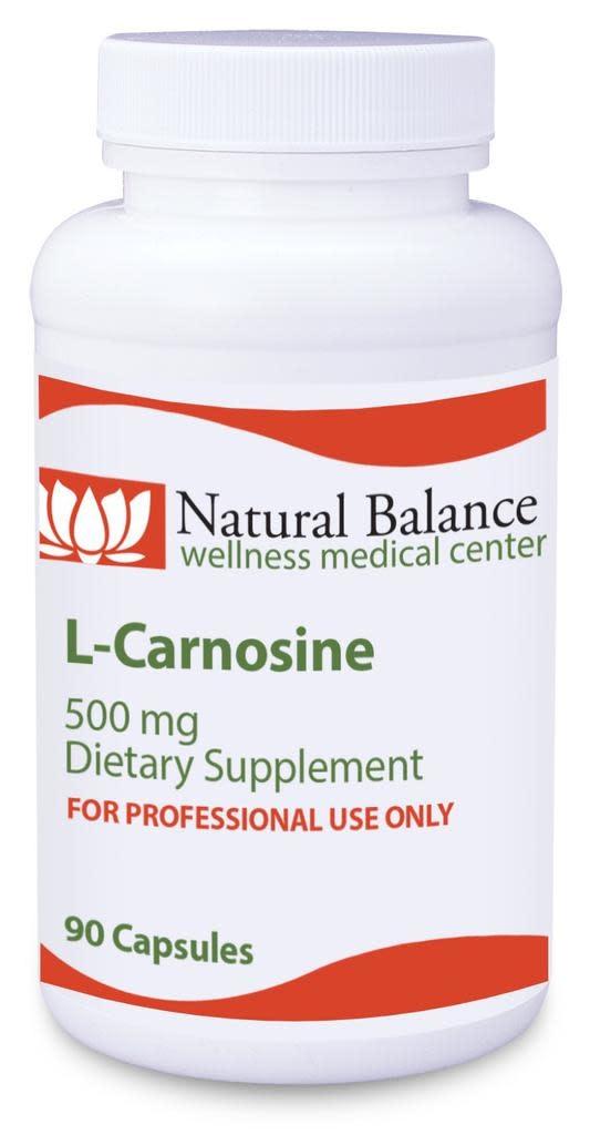 Biomed---------- L-CARNOSINE 500 MG 90 CT (PROTHERA/KLAIRE) (3oz)