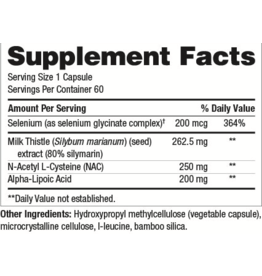 Gastrointestinal Support LVR SUPPORT 60CT (GF) (SF) (DF) (NUMEDICA) (REPLACEMENT FOR KLAIRE PRODUCT: Same instructions)