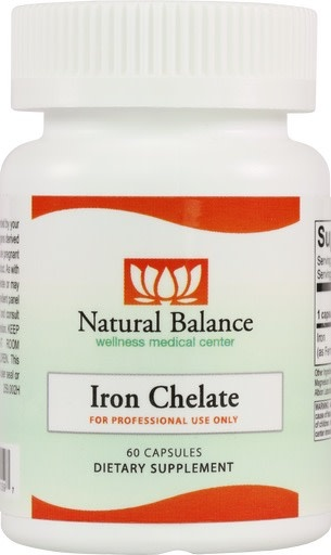 Basic------------- Iron Chelate 60ct (Ortho)