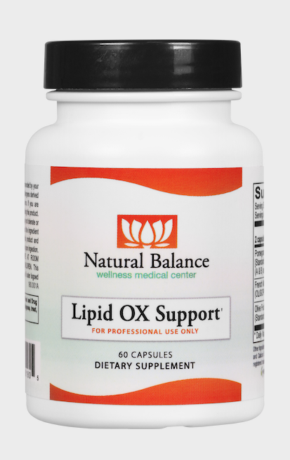 Basic------------- LIPID OX SUPPORT 60CT (ORTHO MOLECULAR)