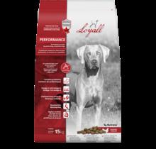 Nourriture sèche pour chien de compétition, formule Performance