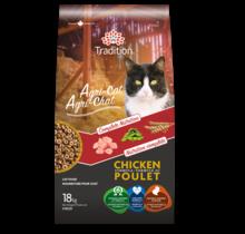 Nourriture sèche au poulet pour chat - Agri-Chat