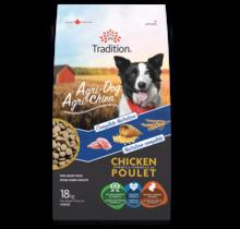 Nourriture sèche au poulet pour chien - Agri-Chien