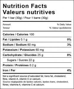 Xact Nutrition Xact Fruit3 Black Currant